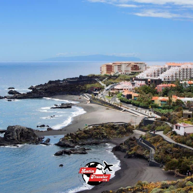 Arena Negra Playa de los Cancajos